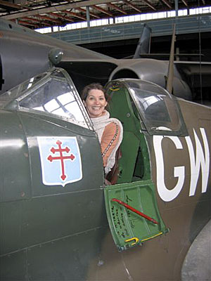 stephanie in spitfire